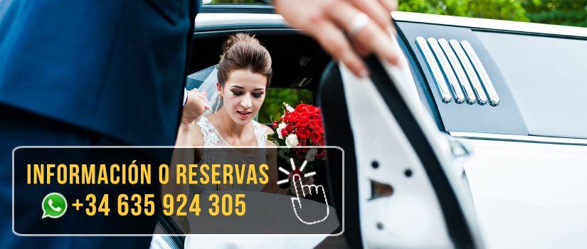 Limusinas para bodas | Alquiler Limusinas Barcelona