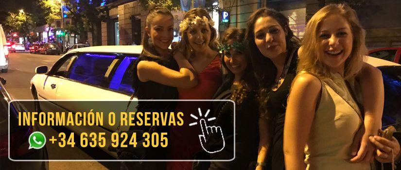 Cumpleaños en limusina | Alquiler Limusinas Barcelona