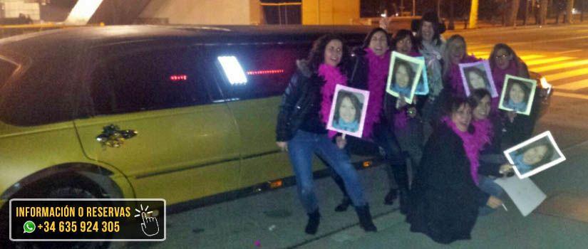 Despedida de soltera de Mireia | Alquiler Limusinas Barcelona