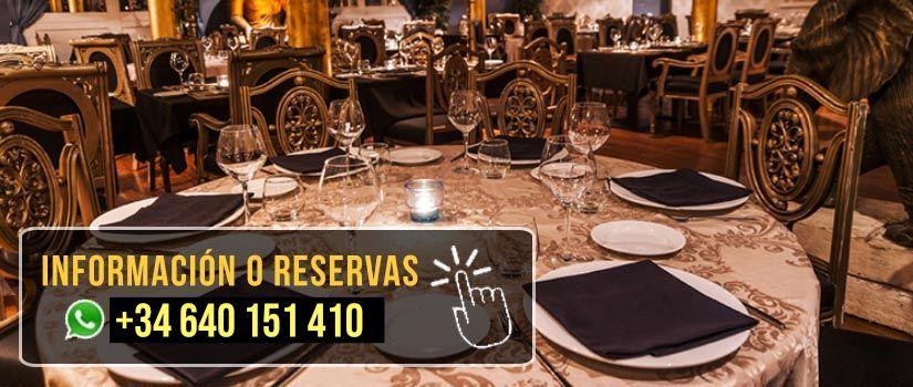 mesa para cenar en barcelona